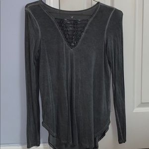 American Eagle Outfitters Tops - Long Sleeve Tee